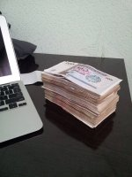 plik pieniędzy